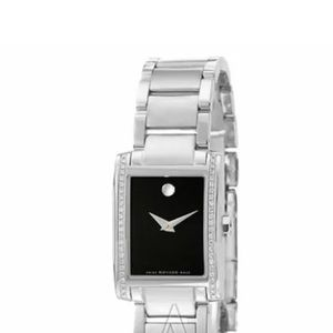 Movado Womens Stainless Steel with  Diamonds